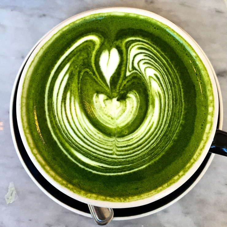 Matcha Latte at Chalait
