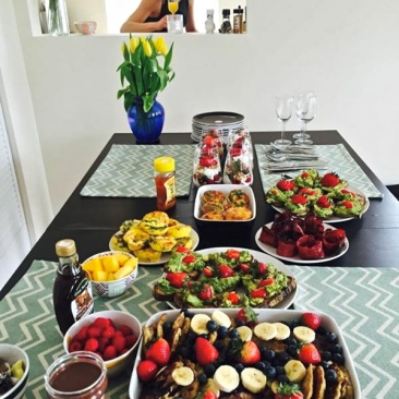 Host a brunch