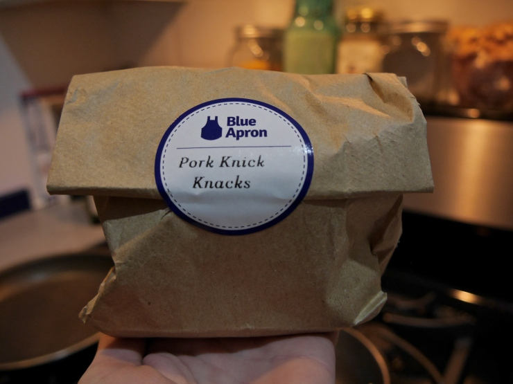 Knick Knacks Blue Apron - New York