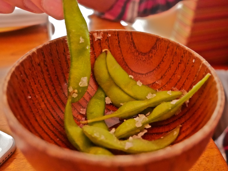 Edamame at Sushisamba - West Village, NYC