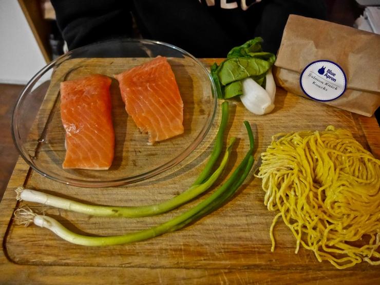 Ingredients Pan Roasted Salmon Ramen - Blue Apron