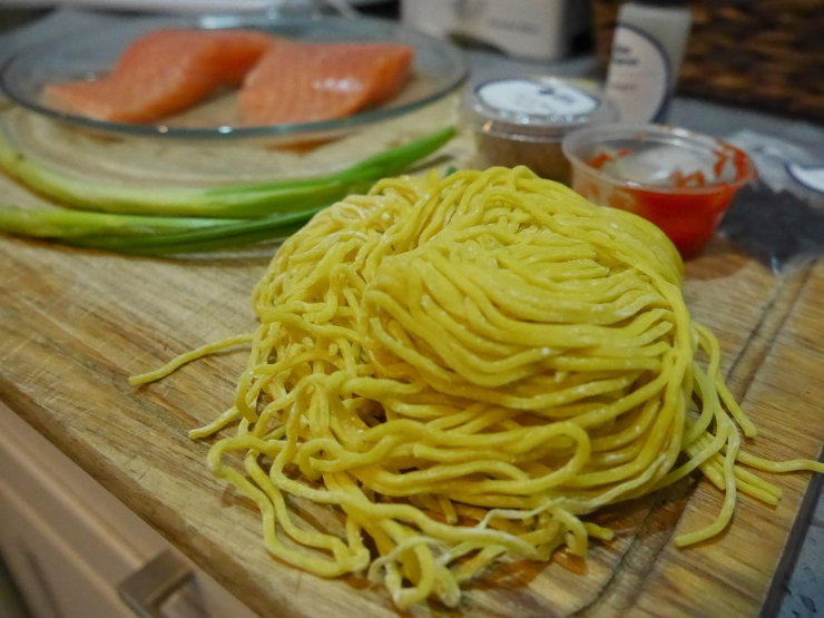 Ramen Noodles for Pan Roasted Salmon Ramen - Blue Apron