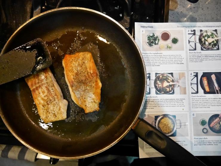 Salmon - Blue Apron