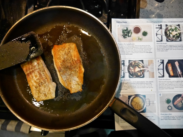 Salmon - Blue Apron