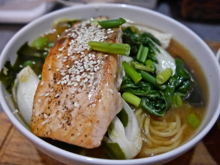 Pan-Roasted Salmon Ramen - Blue Apron