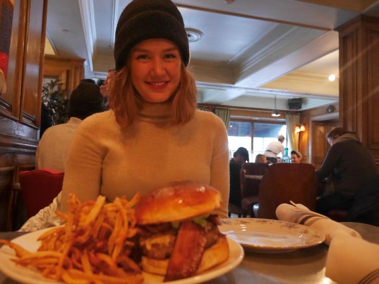 Lunch at Marlton Hotel - Greenwich Village, NYC