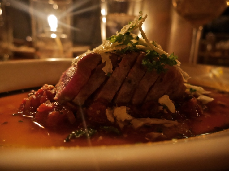 Grilled Tuna at Blue Ribbon Bakery - New York