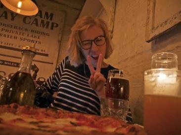 Malin at Saraghina - Bedstuy, NYC