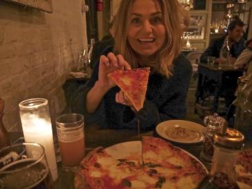 Pizza at Saraghina - Brooklyn, NYC