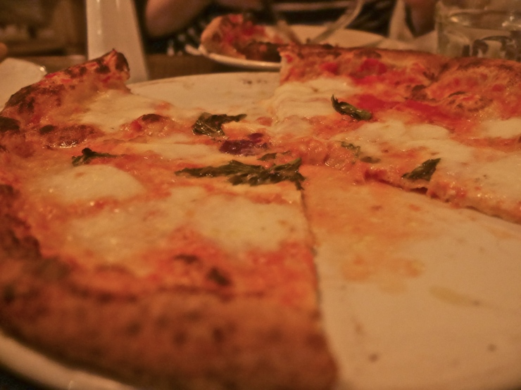 Margherita love at Saraghina - Bedstuy, Brooklyn, NYC