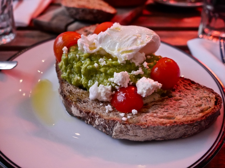 Smashed Avocado at Bluestone Lane Collective - West Village, NYC