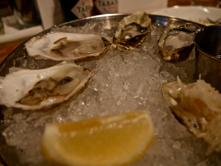 Oysters at Jeffrey's Groceries - West Village, NYC