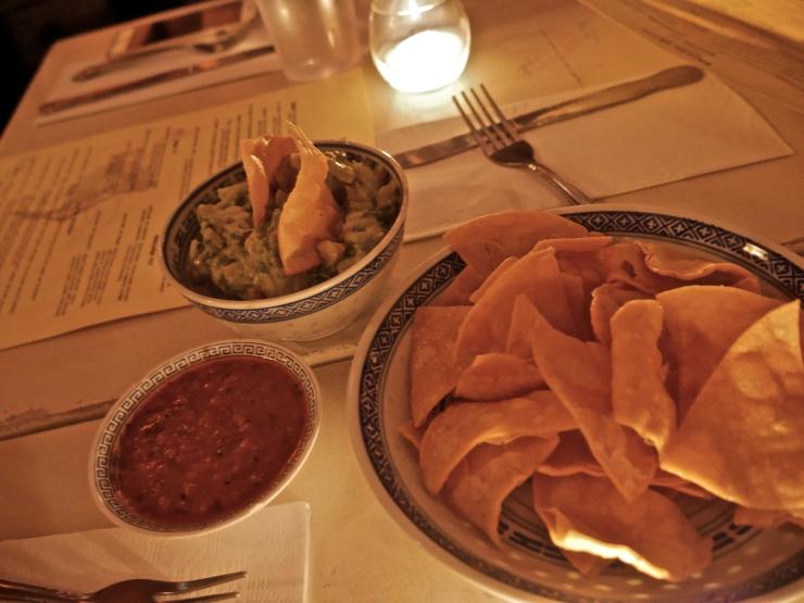 Guacamole at Barrio Chino - NYC