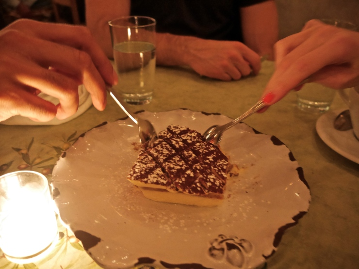 Tiramisu at Palma - West Village, NYC